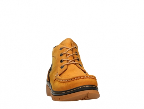 wolky lace up boots 04850 zoom 11925 dark ocher nubuck_6