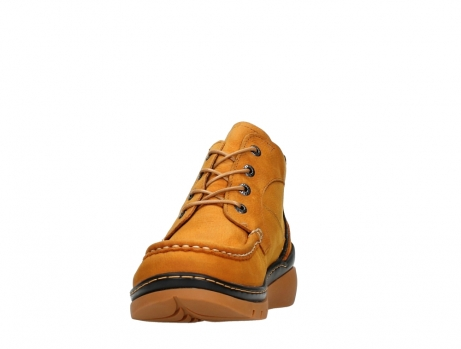 wolky lace up boots 04850 zoom 11925 dark ocher nubuck_8