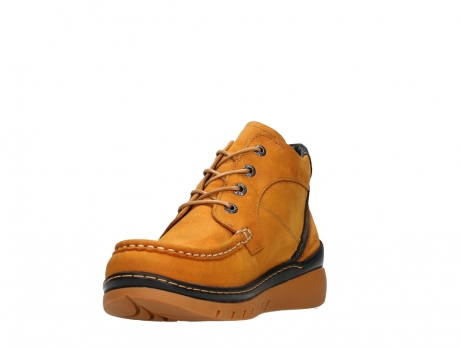 wolky lace up boots 04850 zoom 11925 dark ocher nubuck_9