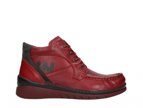 wolky lace up boots 04850 zoom 24505 dark red leather_1