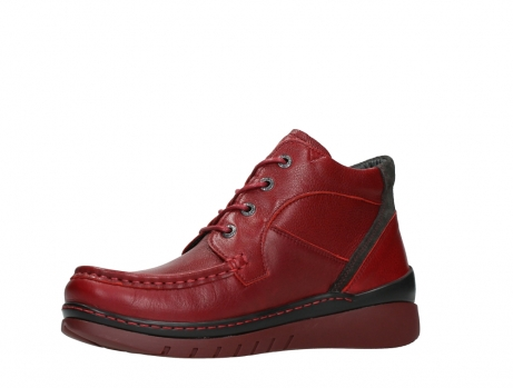 wolky lace up boots 04850 zoom 24505 dark red leather_11