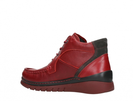 wolky lace up boots 04850 zoom 24505 dark red leather_15