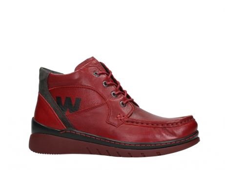 wolky lace up boots 04850 zoom 24505 dark red leather_2