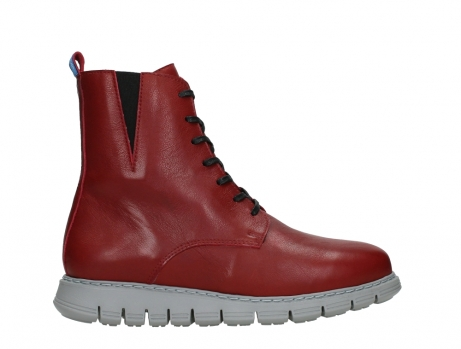 wolky lace up boots 05027 starlight 30500 red leather_1