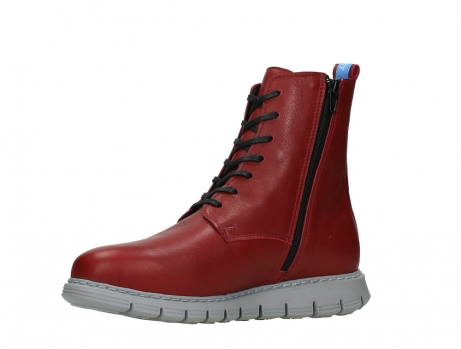 wolky lace up boots 05027 starlight 30500 red leather_11