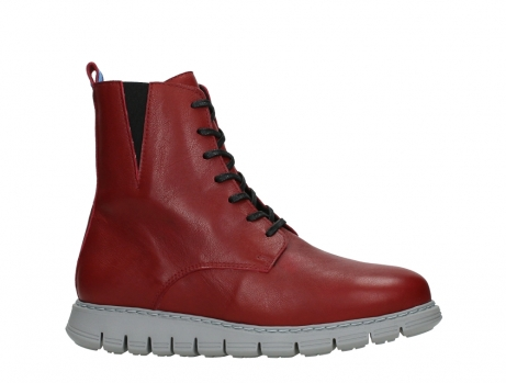 wolky lace up boots 05027 starlight 30500 red leather_2