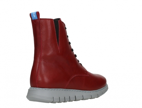 wolky lace up boots 05027 starlight 30500 red leather_22