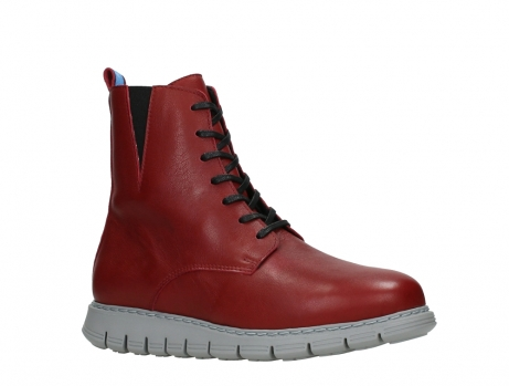 wolky lace up boots 05027 starlight 30500 red leather_3