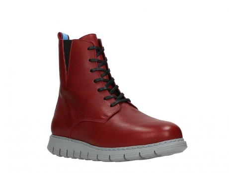 wolky lace up boots 05027 starlight 30500 red leather_4