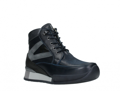wolky lace up boots 05881 victoria 24800 blue stretch leather_4