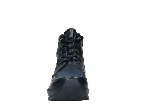 wolky lace up boots 05881 victoria 24800 blue stretch leather_7