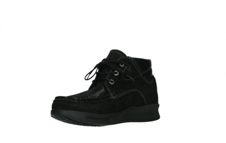 wolky lace up boots 05903 three 10000 black stretch nubuckleather_10