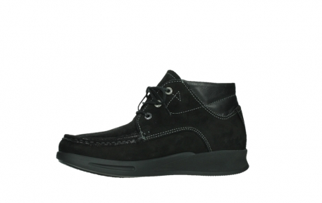 wolky lace up boots 05903 three 10000 black stretch nubuckleather_12