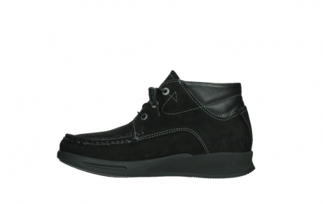 wolky lace up boots 05903 three 10000 black stretch nubuckleather_13