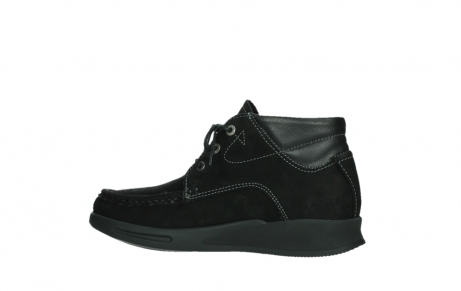wolky lace up boots 05903 three 10000 black stretch nubuckleather_14