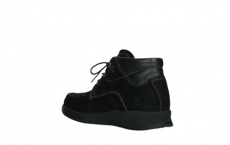 wolky lace up boots 05903 three 10000 black stretch nubuckleather_16