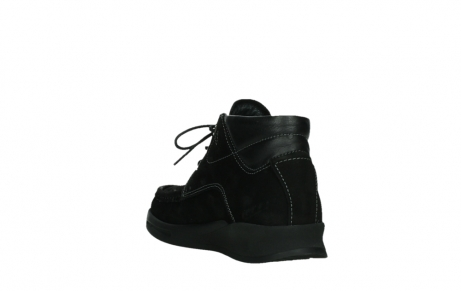 wolky lace up boots 05903 three 10000 black stretch nubuckleather_17