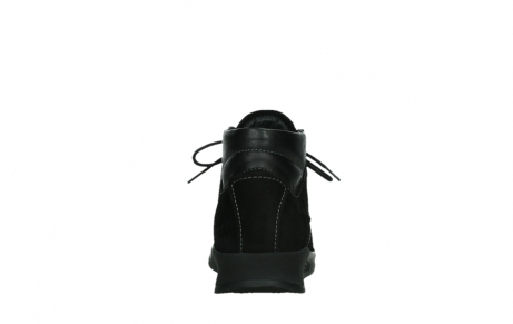 wolky lace up boots 05903 three 10000 black stretch nubuckleather_19
