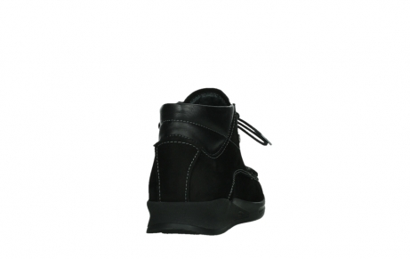wolky lace up boots 05903 three 10000 black stretch nubuckleather_20