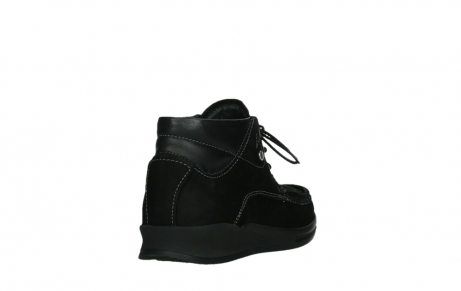 wolky lace up boots 05903 three 10000 black stretch nubuckleather_21