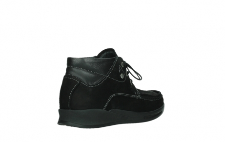 wolky lace up boots 05903 three 10000 black stretch nubuckleather_22