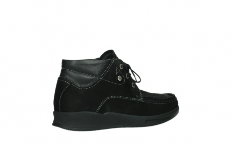 wolky lace up boots 05903 three 10000 black stretch nubuckleather_23