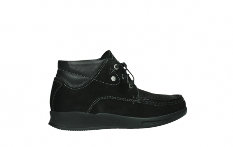 wolky lace up boots 05903 three 10000 black stretch nubuckleather_24