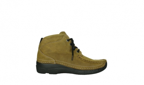 wolky lace up boots 06242 roll shoot 11940 mustard nubuckleather_1