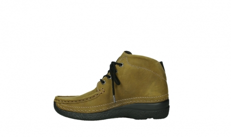 wolky lace up boots 06242 roll shoot 11940 mustard nubuckleather_13