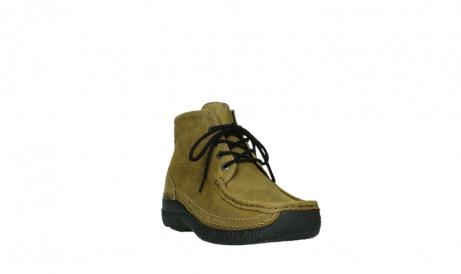 wolky lace up boots 06242 roll shoot 11940 mustard nubuckleather_21