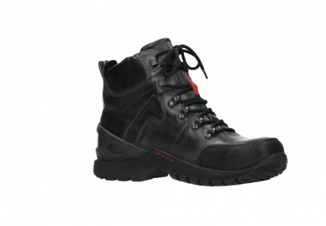 wolky lace up boots 06500 city tracker 30210 anthracite leather_15