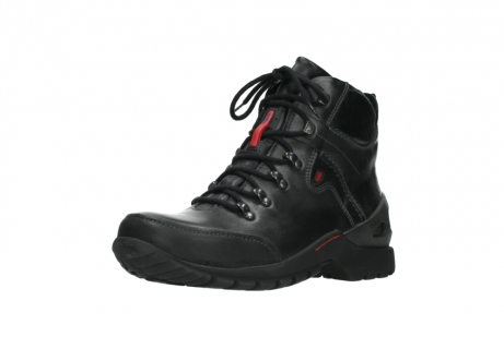 wolky lace up boots 06500 city tracker 30210 anthracite leather_22