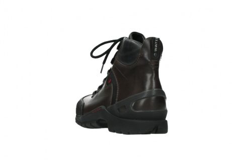 wolky lace up boots 06500 city tracker 30300 brown leather_5