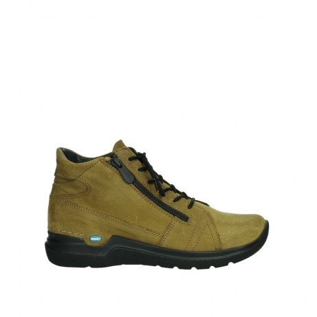 wolky lace up boots 06606 why 11940 mustard nubuckleather