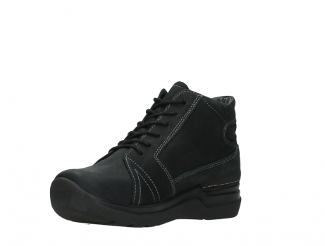 wolky lace up boots 06606 why 11000 black nubuck_10