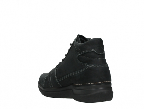 wolky lace up boots 06606 why 11000 black nubuck_17