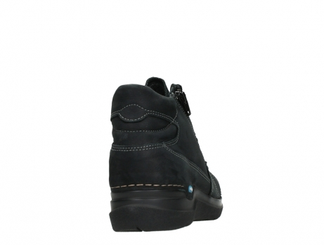 wolky lace up boots 06606 why 11000 black nubuck_20