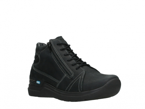 wolky lace up boots 06606 why 11000 black nubuck_4