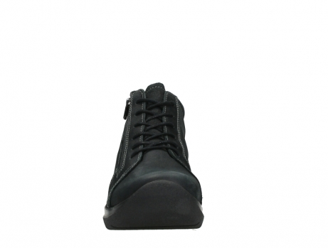 wolky lace up boots 06606 why 11000 black nubuck_7