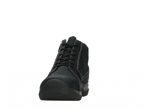 wolky lace up boots 06606 why 11000 black nubuck_8