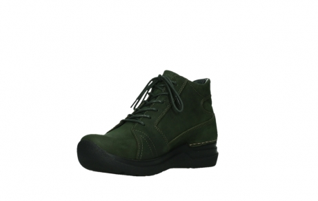 wolky lace up boots 06606 why 11735 forest green nubuck_10