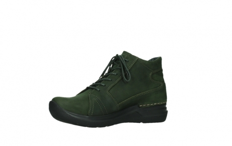 wolky lace up boots 06606 why 11735 forest green nubuck_11