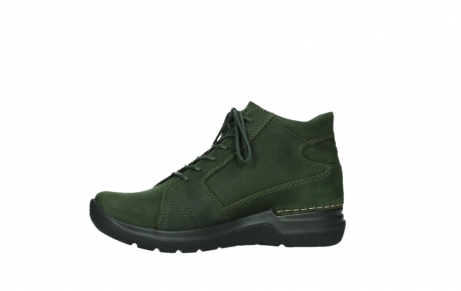 wolky lace up boots 06606 why 11735 forest green nubuck_12