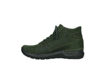 wolky lace up boots 06606 why 11735 forest green nubuck_13