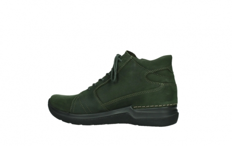 wolky lace up boots 06606 why 11735 forest green nubuck_14