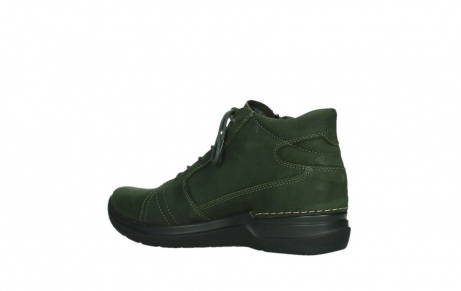 wolky lace up boots 06606 why 11735 forest green nubuck_15