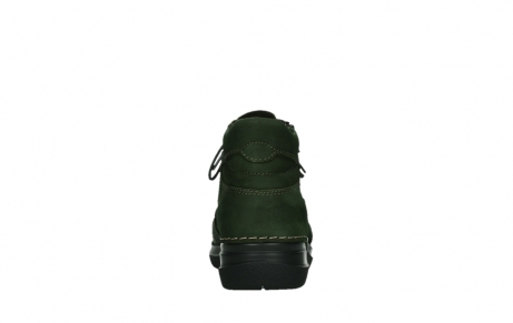 wolky lace up boots 06606 why 11735 forest green nubuck_19