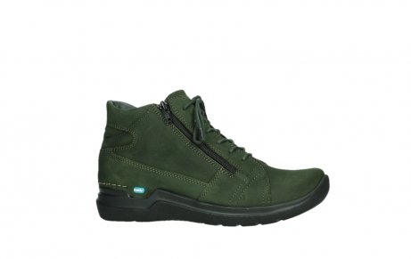 wolky lace up boots 06606 why 11735 forest green nubuck_2