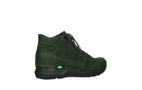 wolky lace up boots 06606 why 11735 forest green nubuck_23
