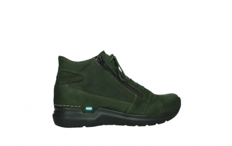 wolky lace up boots 06606 why 11735 forest green nubuck_24